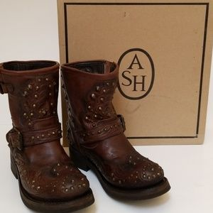 Ash Motorcycle Boots